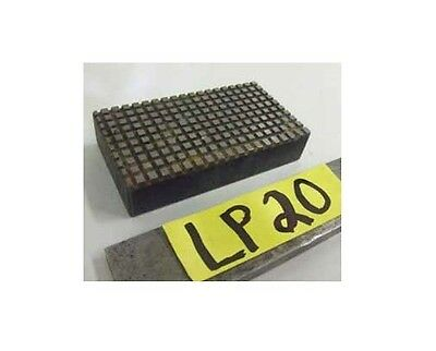 """Machinist Lapping Plate 2"""" x 3"""" x 3/4"""" Finishing Fixture Metal & Wood Working"""