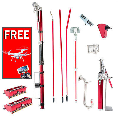 Level5 Full Set of Automatic Drywall Taping Tools w/ FREE Hopper & Roller