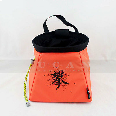 Rock Climbing Bouldering Chalk Bag Powder Bot Pot Chalkbag ClimbX Gear Equipment