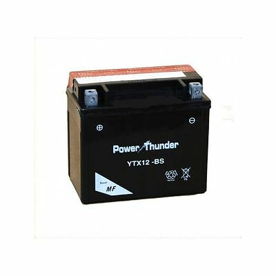 Bateria moto Power Thunder YTX12-BS 12v 10ah (BTX12-BS - PTX12-BS)