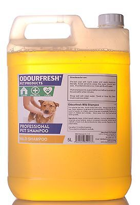 PROFESSIONAL DOG SHAMPOO - Baby Powder Scented Mild Shampoo ODOURFRESH GROOMIN