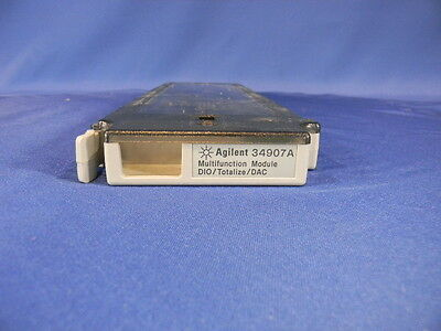 Keysight Agilent HP 34907A Multifunction Module for the HP 34970A