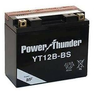 Bateria moto Power Thunder YT12B-BS 12V 10Ah