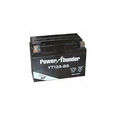 Bateria moto Power Thunder YT12A-BS 12V 10Ah