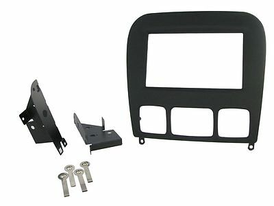 2003 Mercedes S500 Double DIN Dash Kit Black