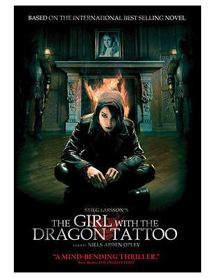 The Girl With the Dragon Tattoo (DVD, 2010) VG