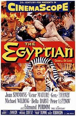 The Egyptian NEW PAL Classic DVD Jean Simmons