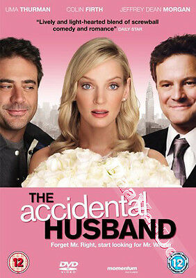 The Accidental Husband NEW PAL Cult DVD Uma Thurman