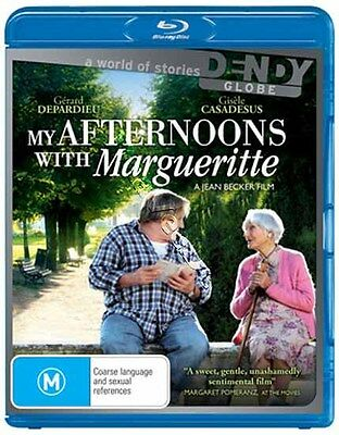 My Afternoons with Margueritte NEW Arthouse Blu-Ray Disc Depardieu Casadesus