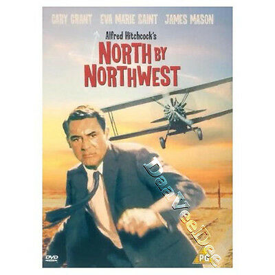 North by Northwest NEW PAL DVD Cary Grant J Mason