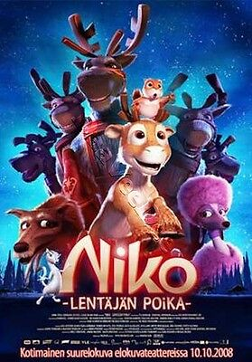 Niko & The Way to the Stars NEW PAL Cult Kids DVD Michael Hegner Finland