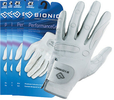 4 Bionic Womens Performance Series Premium Tour Leather golf glove Left Hand
