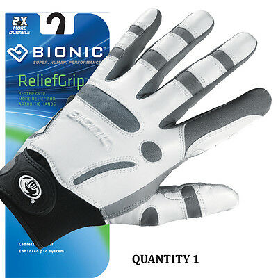 Bionic Mens Arthritic Relief Grip Golf Glove w/Enhanced support Left & Right Hd