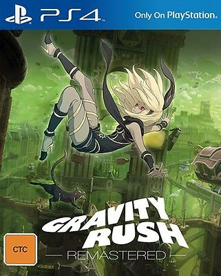 Gravity Rush Remastered PS4 PAL *NEW!* + Warranty!