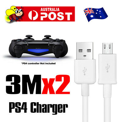 PS4 Controller Cable USB Power Charger Cable For SONY PlayStation 4