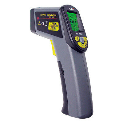 NDI -50~650 Celsius Infrared Thermometer + Thermocouple -99~1370 Celsius + Bag