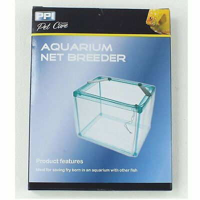 Fish Tank Aquarium Net Breeder Guppy Fry Trap Hatchery