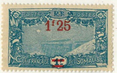 1924.27//colonies Francaises/cote Des Somalis/ Timbre Neuf**/stamp....y/t.117