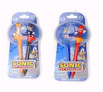 Sonic The Hedgehog 3D Stylus Twin Pack (Wii U/ 3DS XL/ 3DS)