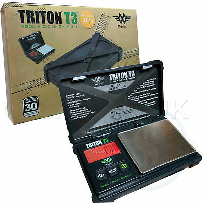 Triton T3 by My weigh 400g x 0.01g Accuracy Digital Scale - Tough Design