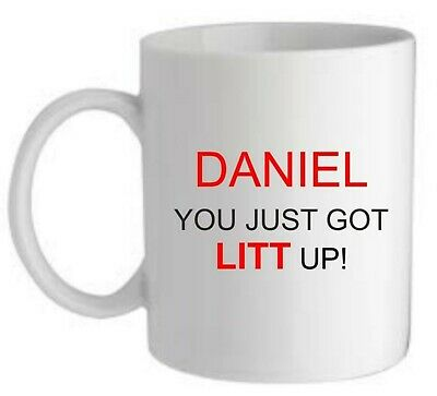 You Just Got Litt Up! Suits Mug/coaster Mum Dad Friend Birthday Fathers Day Gift