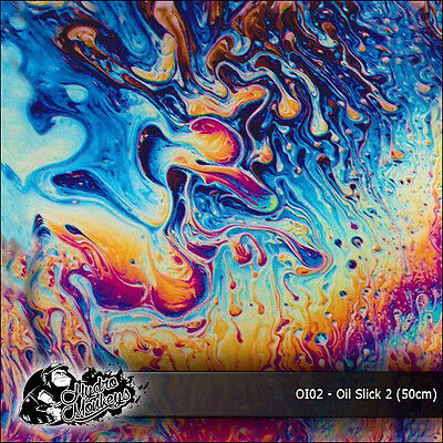 1m of Oil Slick 2 Film (Oio2) 50cm hydrographics water transfer film
