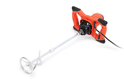 Nordstrand 1600W Pro Mixer Stirrer Single Paddle for Plaster Paint Cement Mortar