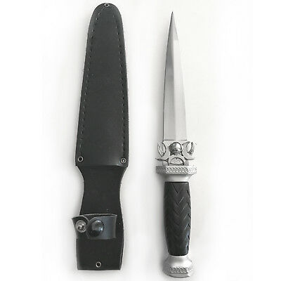 """Moon Phases Wicca Pagan 9-1/2"""" Knife Dagger Ritual Athame with 5"""" Steel Blade"""
