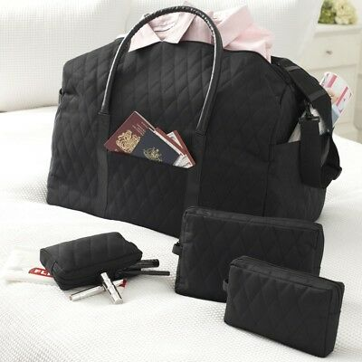 NEW Quilted Travel Bag Set (4 piece)