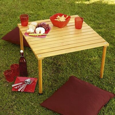 NEW Pine Folding Portable Camping Picnic Table in a Bag