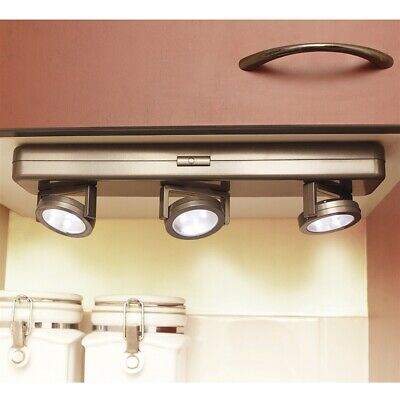 NEW Battery Operated Wireless LED Under Cabinet Spot Lights
