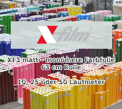 xf3 Matte monomere Color Slide X-FILM 63cm Reel x 10 25 50 M