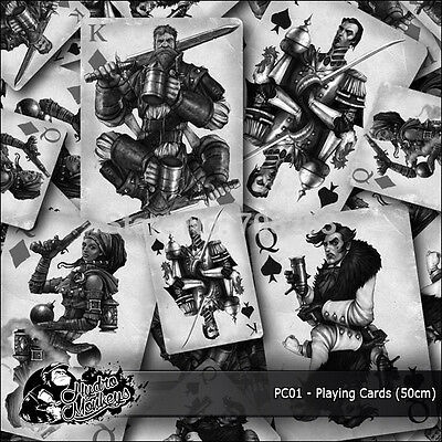 1m of Playing Cards Film (PC01) 50cm hydrographics water transfer film