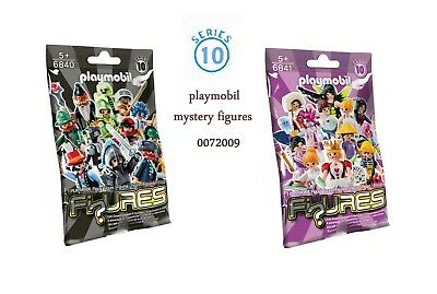 Playmobil  Mystery Figures  Serie 10 New  6840  6841 In Unopened Sealing Bag