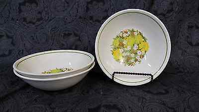 Ridgway Ironstone Glenmere Soup / Dessert Bowl Made In England