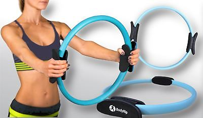 BodyRip 16' Pilates Resistance Ring Circle Gymnastics Yoga Aerobic Double Handle