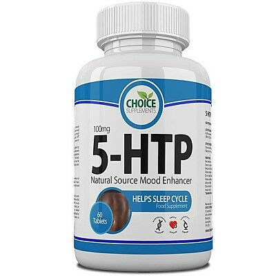 5 HTP 100mg Tablets Depression, Insomnia, Anxiety, Seratonin, Appetite Control