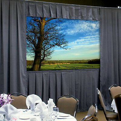Da-Lite 39322P FastFold Deluxe Drapery Presentation Kit, for 8' x 14' Screen
