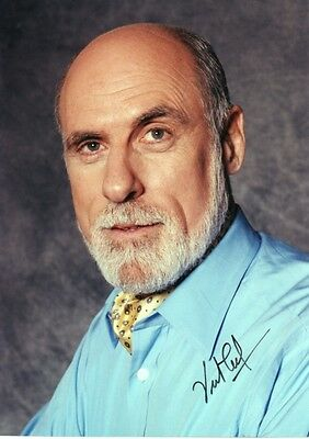 VINT CERF Signed 7x5 Photo FATHER OF THE INTERNET COA