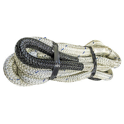 "Heavy Duty Tow Rope made w/ double braid nylon 3/4"" - 2""  Poor man's Bubba Rope"