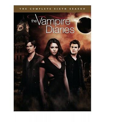Cofanetto Vampire Diaries (The) - Stagione 06 (5 Dvd) Serie Tv Dvd Nuovo-243570
