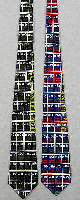 PERIODIC TABLE OF THE ELEMENTS CHEMISTRY SCIENCE TEACHER Steven Harris Necktie