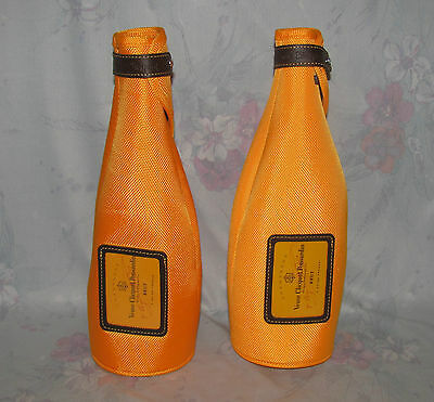 Veuve Clicquot Ponsardin Brut Set 2 Wine Cozy - Orange, Neoprene