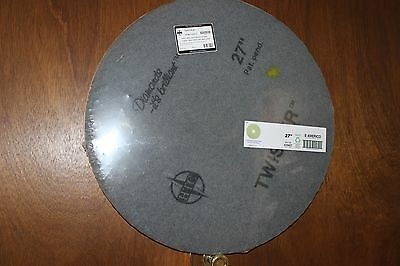 "Twister 27"" Yellow (1500 Grit) Diamond Floor Pad 2 Pack"