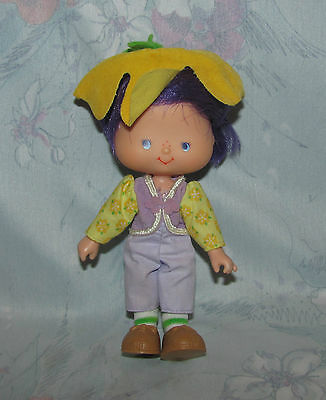 Vtg Strawberry Shortcake Doll - Almond Tea - Hat, Shoes, Outfit