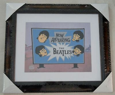 """Now Appearing: The Beatles!""  Limited Edition Sericel  Signed  COA Framed"