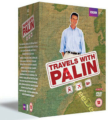 Travels with Michael Palin NEW PAL Documentary Series 20-DVD Set