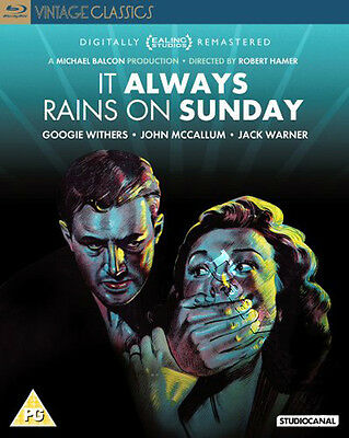It Always Rains on Sunday NEW Classic Blu-Ray Disc Robert Hamer Googie Withers