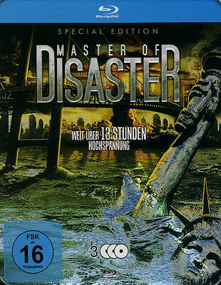 Master of Disaster Collection - 9 Films NEW Cult Blu-Ray 3-Disc Set C. T. Howell
