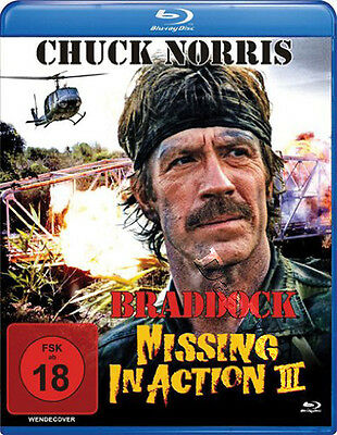 Braddock: Missing in Action III NEW Classic Blu-Ray Disc A. Norris Chuck Norris